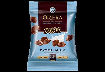 Шоколадные дропсы О Зера молочный КДВ